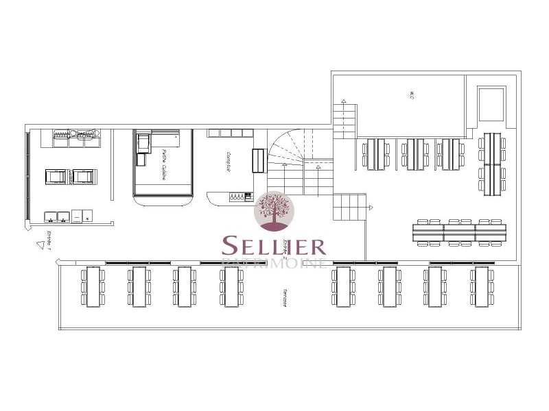 Commercial property sale shop Paris 1er 500000€ - Picture 12