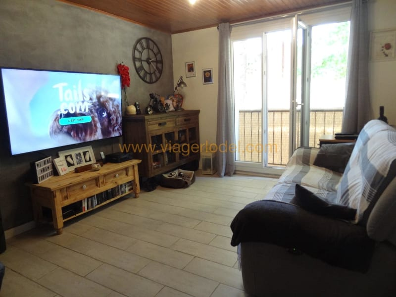 Life annuity apartment Nîmes 58 000€ - Picture 2
