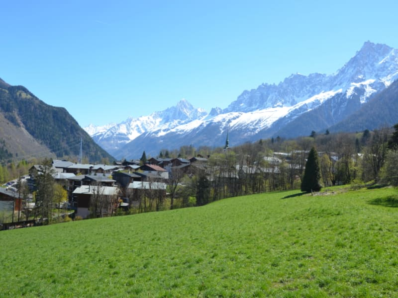 Sale apartment Les houches 320 000€ - Picture 1