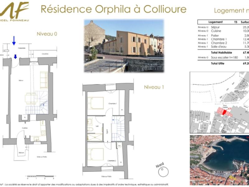 Vente appartement Collioure 398000€ - Photo 3