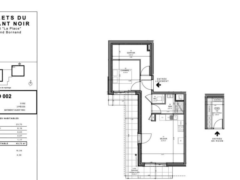 Vente appartement Le grand-bornand 280000€ - Photo 2