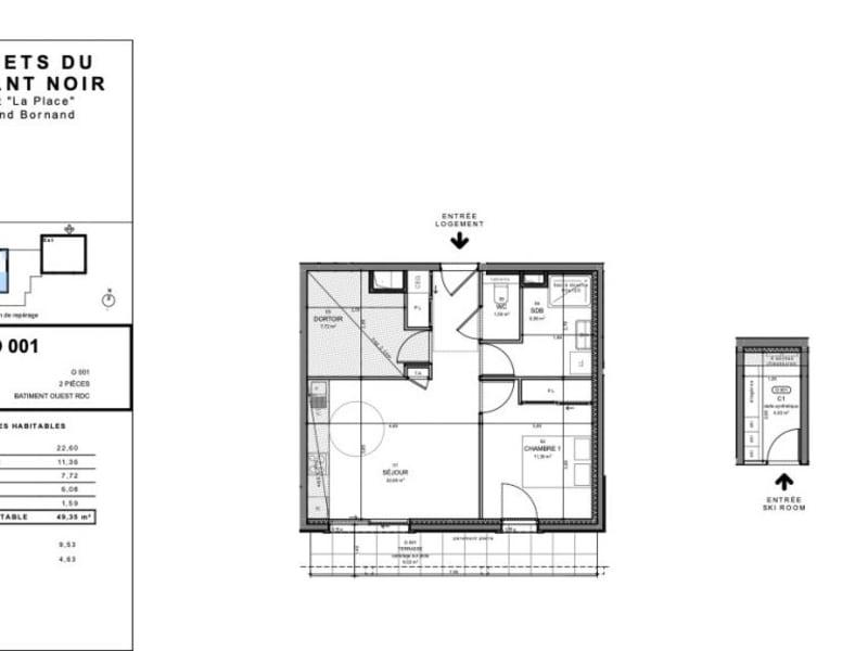 Vente appartement Le grand-bornand 310000€ - Photo 2