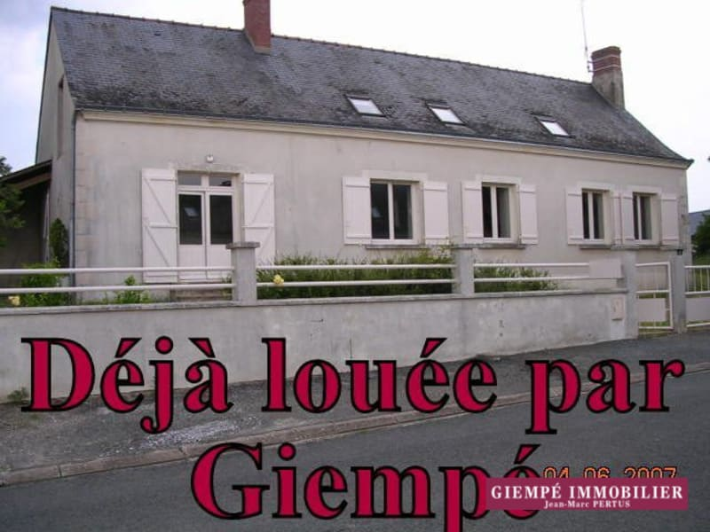 Location maison / villa Chaumont-d'anjou 723€ CC - Photo 1
