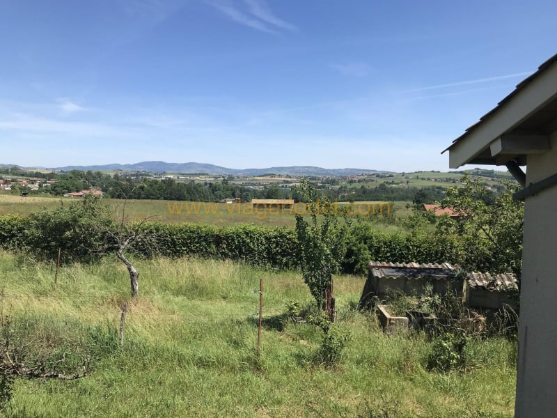 Lijfrente  huis Saint-romain-de-popey 70000€ - Foto 2