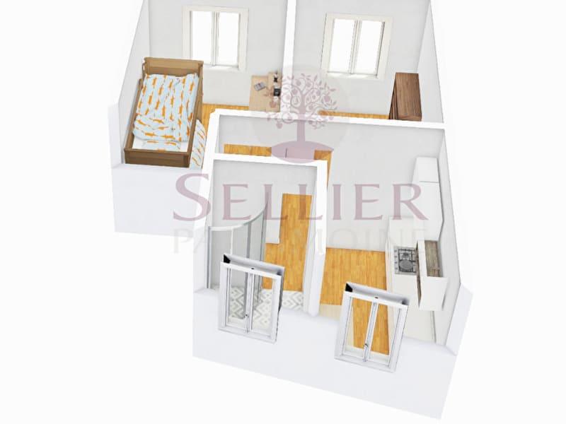 Vendita appartamento Paris 13ème 394000€ - Fotografia 2