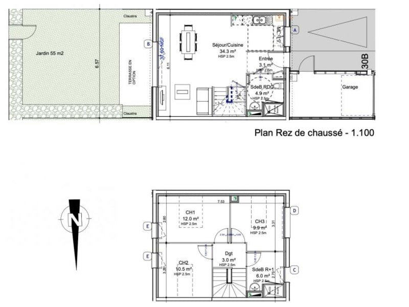 Sale house / villa Colombelles 214000€ - Picture 3