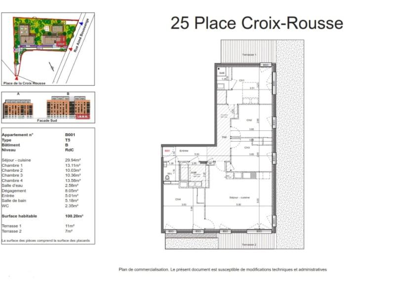 Sale apartment Lyon 4ème 830000€ - Picture 2