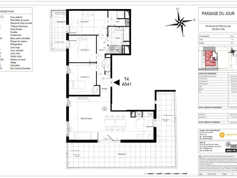 Sale apartment Lyon 5ème 797000€ - Picture 3