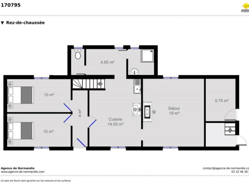 Vente maison / villa Montreuil-l'argillé 170000€ - Photo 7