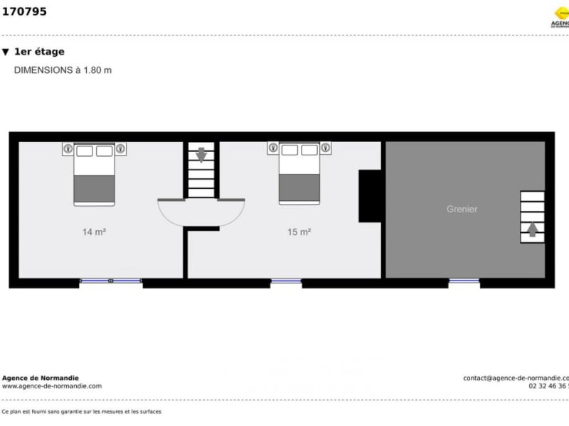 Vente maison / villa Montreuil-l'argillé 170000€ - Photo 12