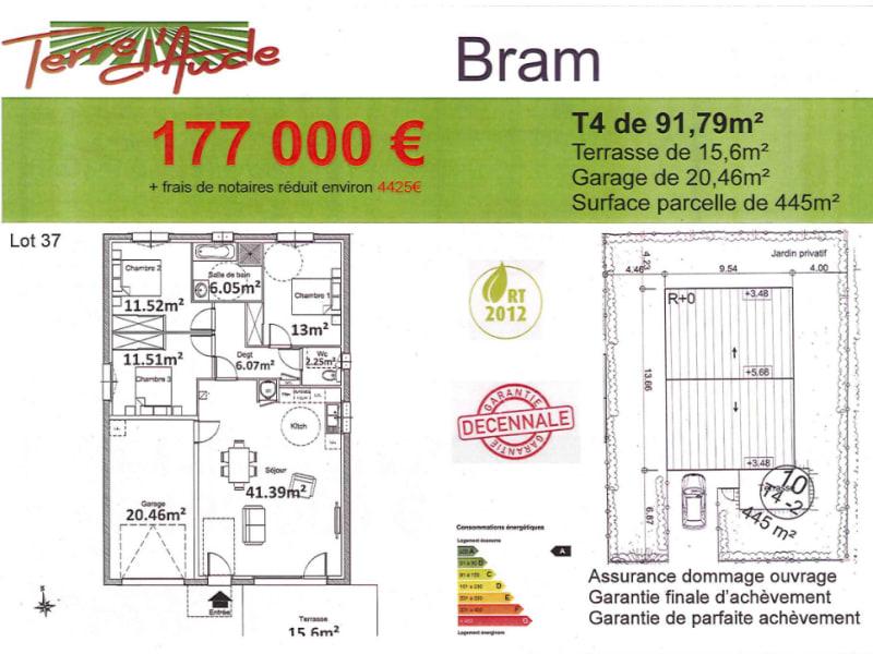 Vente maison / villa Bram 177000€ - Photo 2