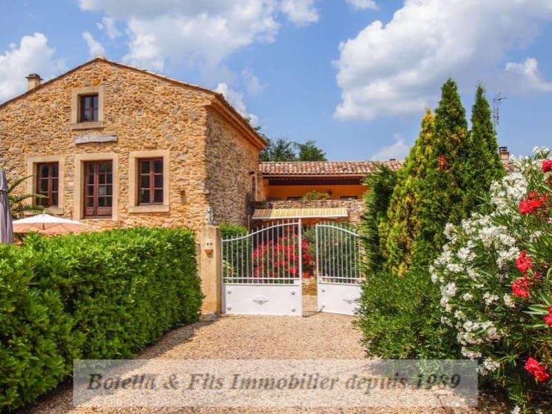 Verkauf von luxusobjekt haus St paulet de caisson 445000€ - Fotografie 1
