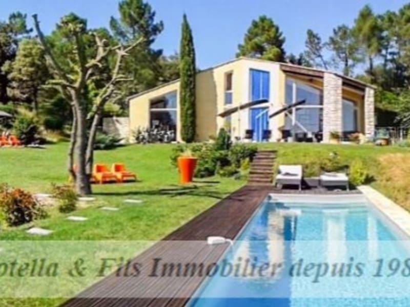Verkauf von luxusobjekt haus Barjac 690000€ - Fotografie 1