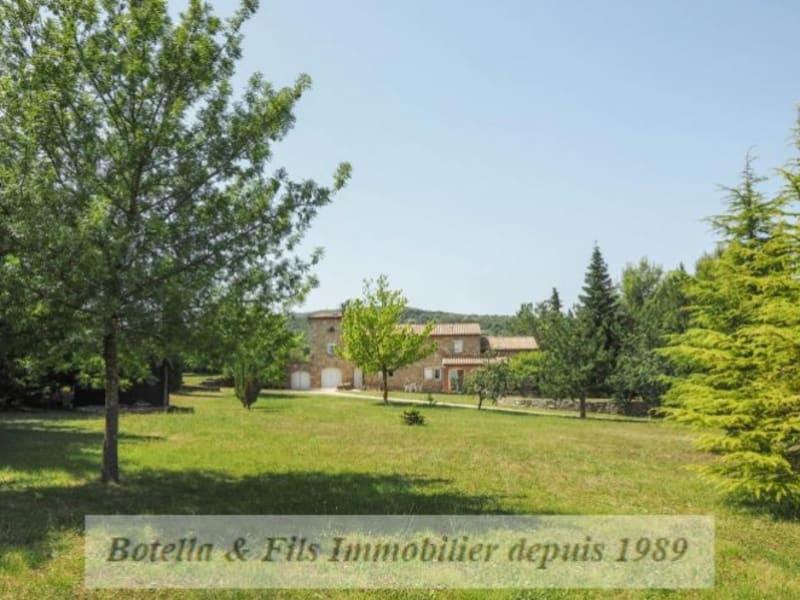 Verkauf von luxusobjekt haus Barjac 899000€ - Fotografie 1