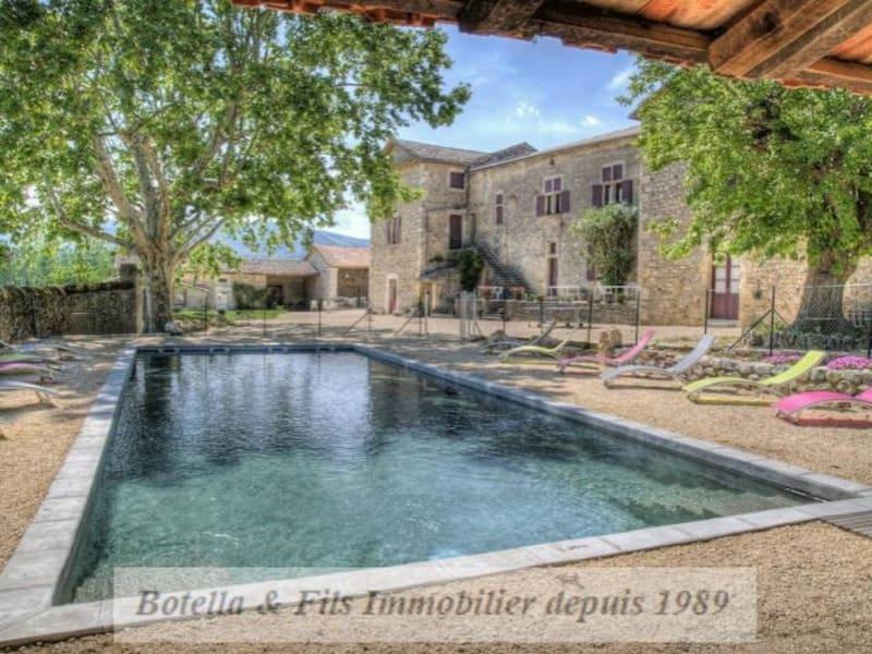 Vente de prestige maison / villa Vallon pont d arc 1562000€ - Photo 1
