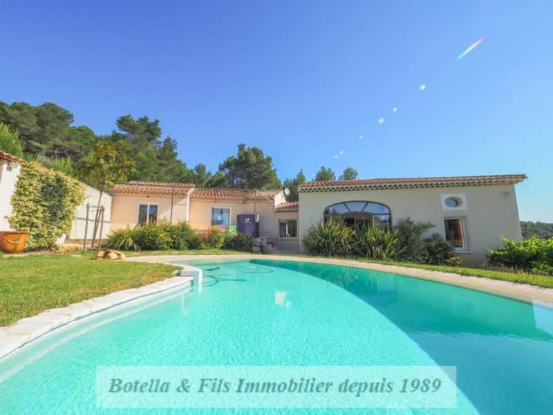 Verkauf von luxusobjekt haus Uzes 630000€ - Fotografie 1