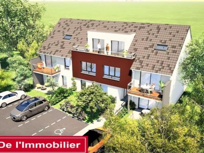 Sale apartment Mommenheim 185000€ - Picture 2