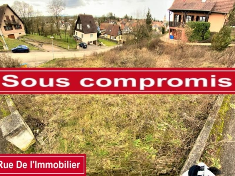 Sale site Melsheim 66000€ - Picture 1