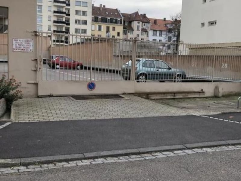 Rental parking spaces Strasbourg 60€ CC - Picture 1