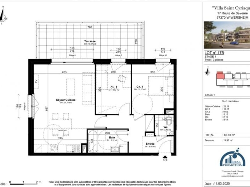 Vente de prestige appartement Wiwersheim 209000€ - Photo 4