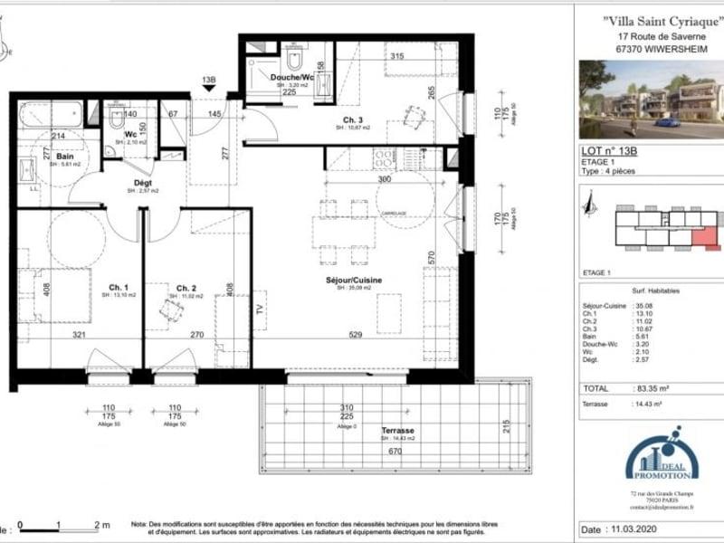 Verkauf von luxusobjekt wohnung Wiwersheim 265000€ - Fotografie 4