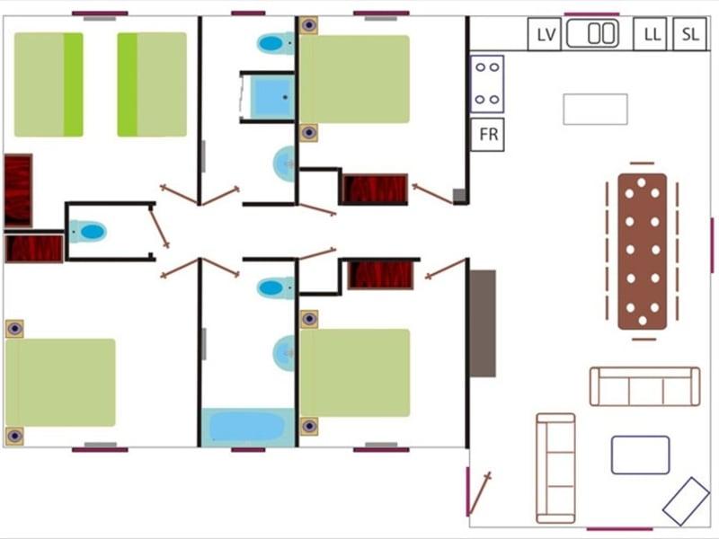 Sale building Apt 2120000€ - Picture 8
