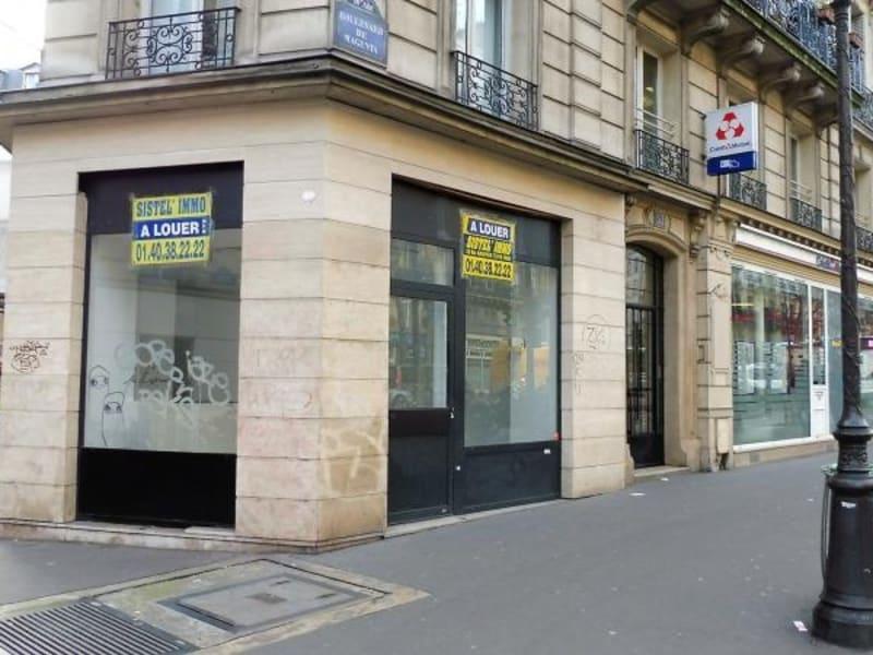 Rental empty room/storage Paris 10ème 1800€ HC - Picture 1