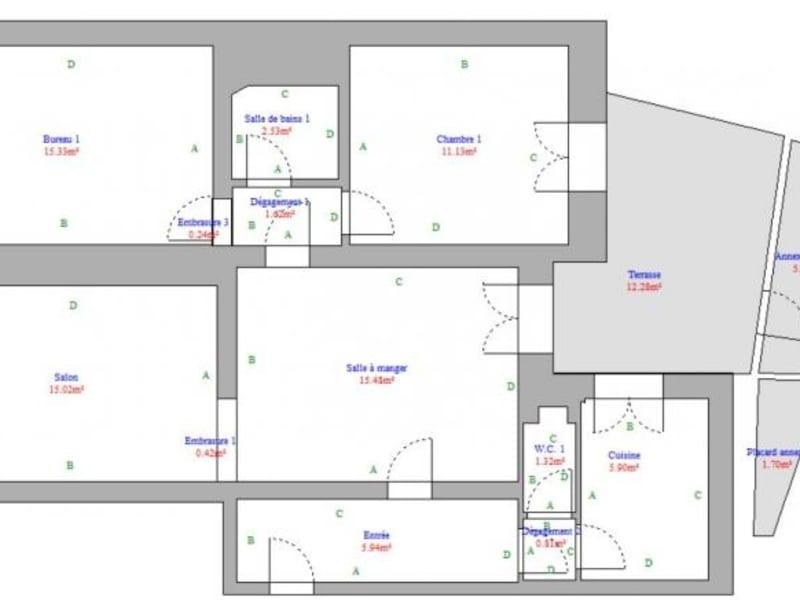 Sale apartment Paris 8ème 535500€ - Picture 5
