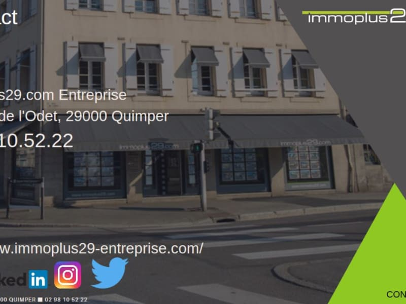 Vente local commercial Quimper 54 200€ - Photo 4