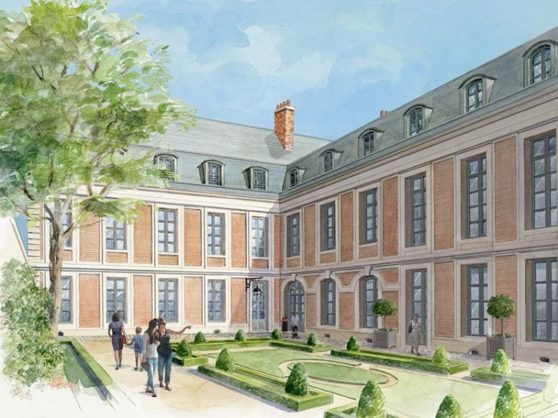 Deluxe sale apartment Versailles 854 000€ - Picture 1