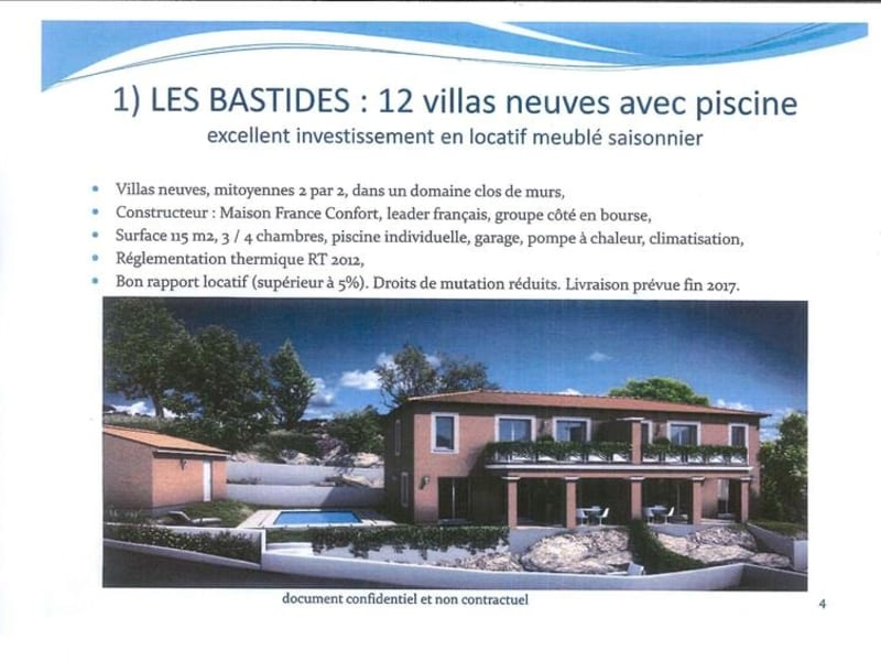 Sale house / villa Les issambres 445 000€ - Picture 1