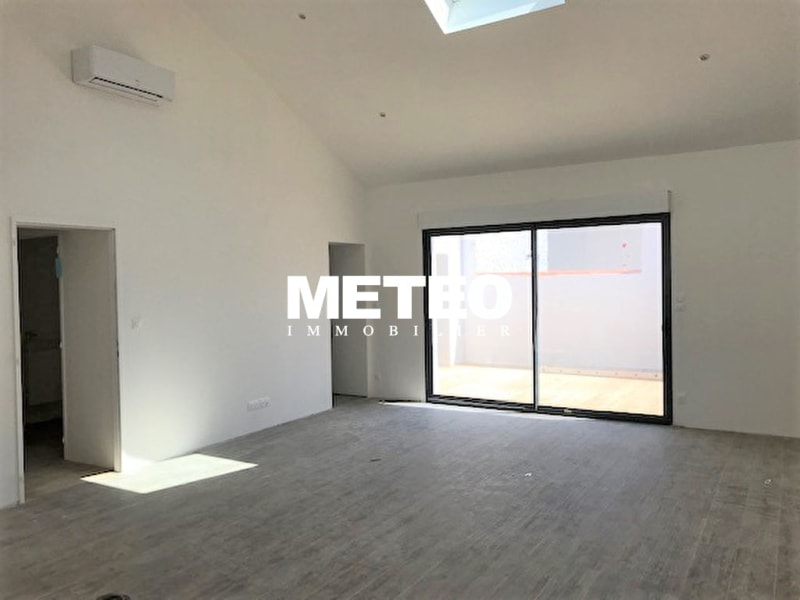 Maison 110m², garage, patio