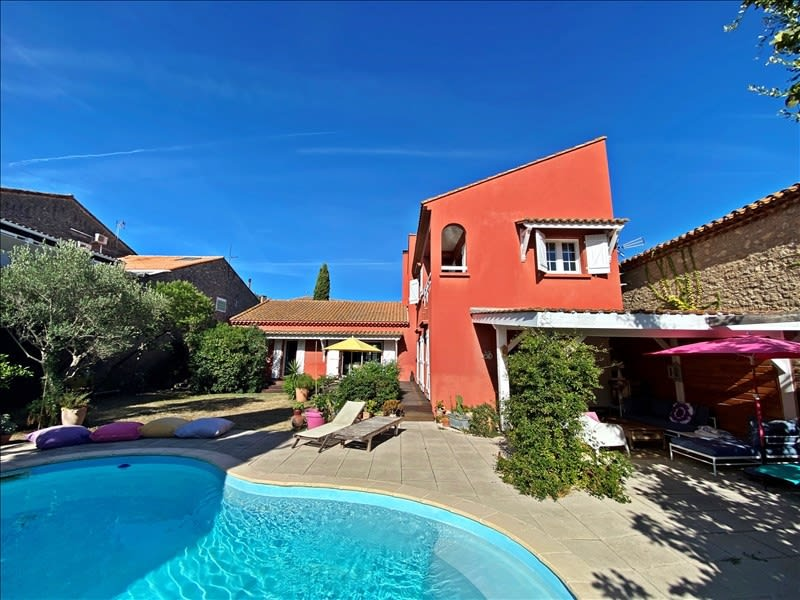 Sale house / villa Maraussan 477500€ - Picture 2