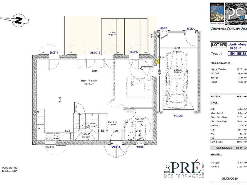 Vente maison / villa Saint cannat 384500€ - Photo 2