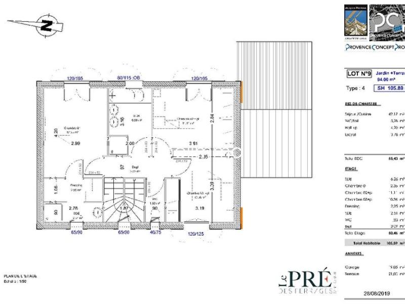 Vente maison / villa Saint cannat 384500€ - Photo 3