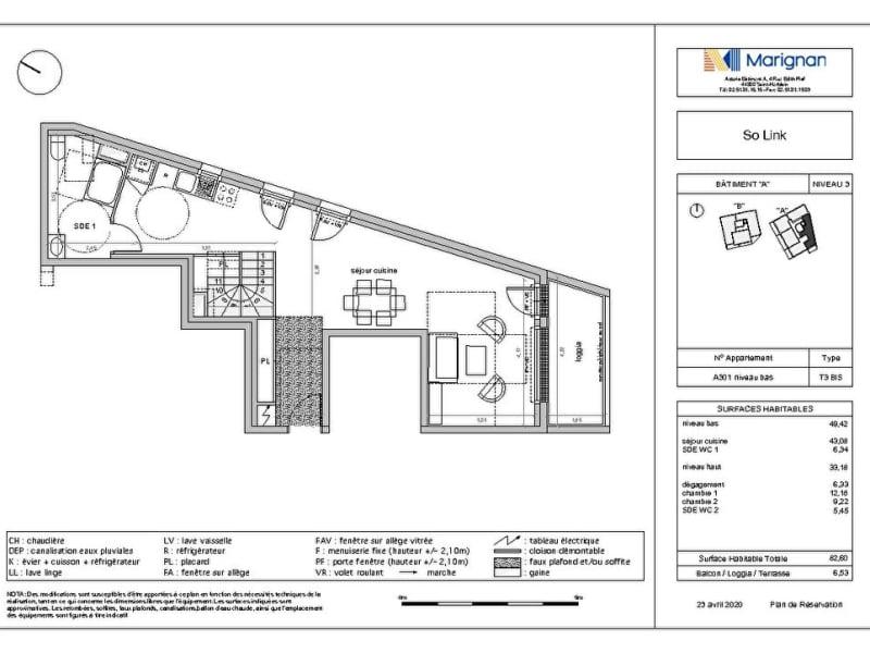 Sale apartment Nantes 369600€ - Picture 2