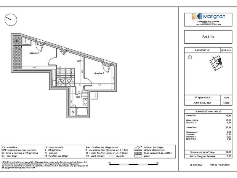 Sale apartment Nantes 369600€ - Picture 3