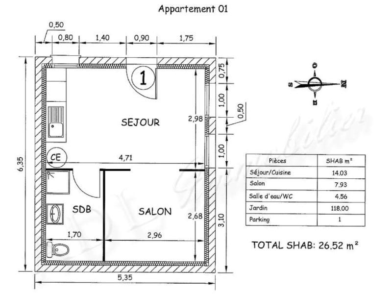 Vente appartement Gouvieux 125000€ - Photo 6