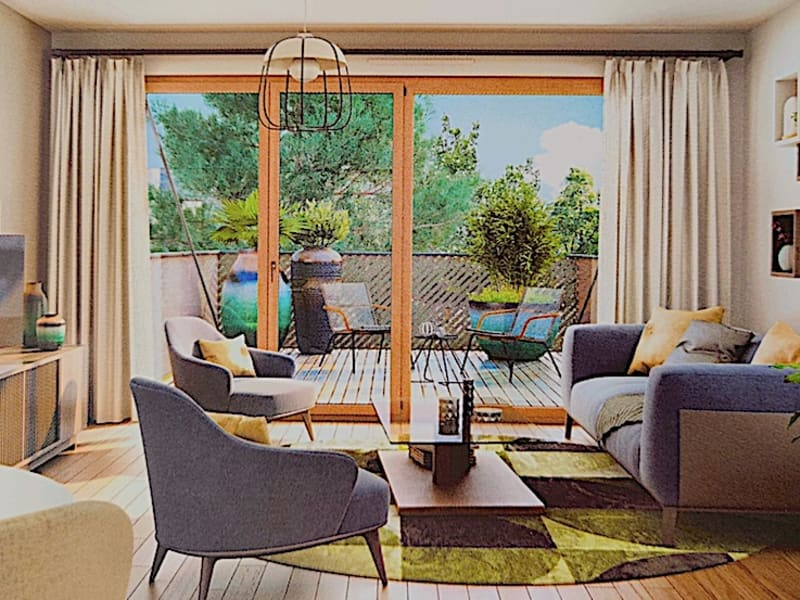 Vente appartement Massy 325000€ - Photo 2