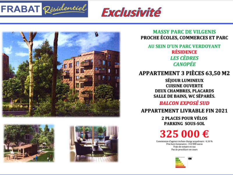 Vente appartement Massy 325000€ - Photo 5