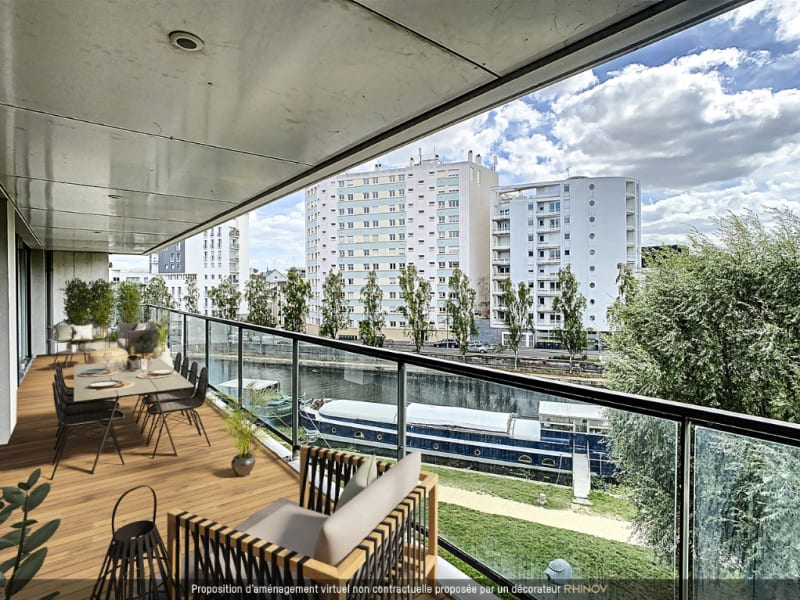 Venta  apartamento Rennes 1397250€ - Fotografía 1
