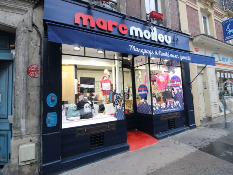 Vente local commercial Rouen 225000€ - Photo 1