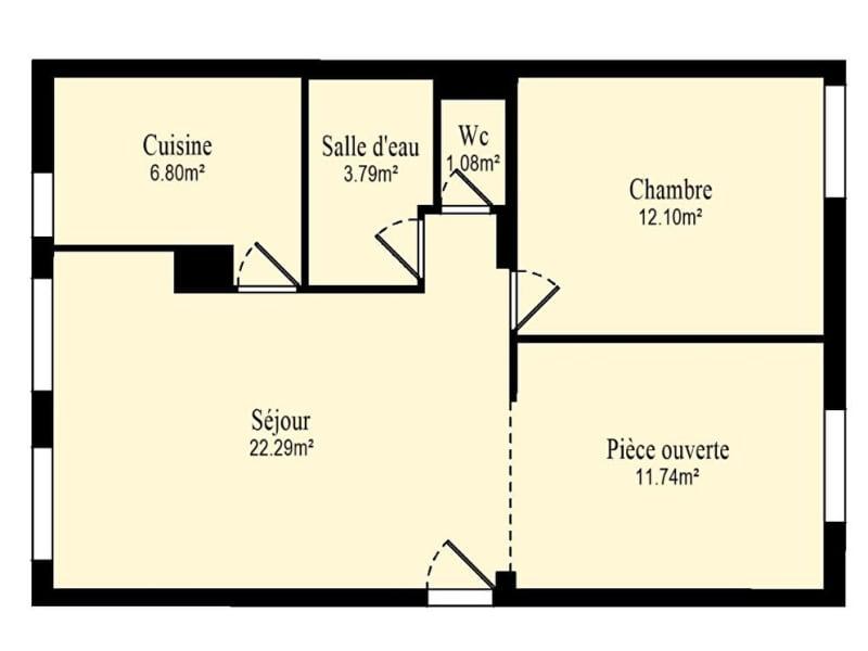 Vente appartement Vanves 414000€ - Photo 9