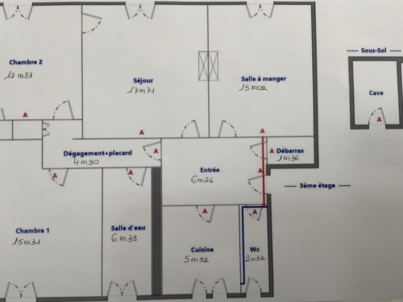 Sale apartment Paris 5ème 1200000€ - Picture 9