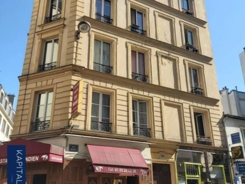 Sale apartment Paris 18ème 131000€ - Picture 1