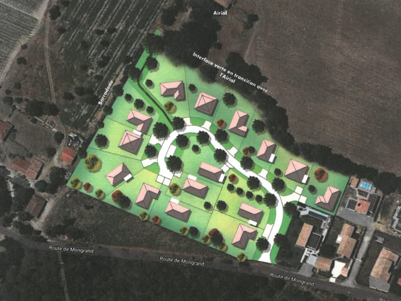 Vente terrain Vielle st girons 121750€ - Photo 3