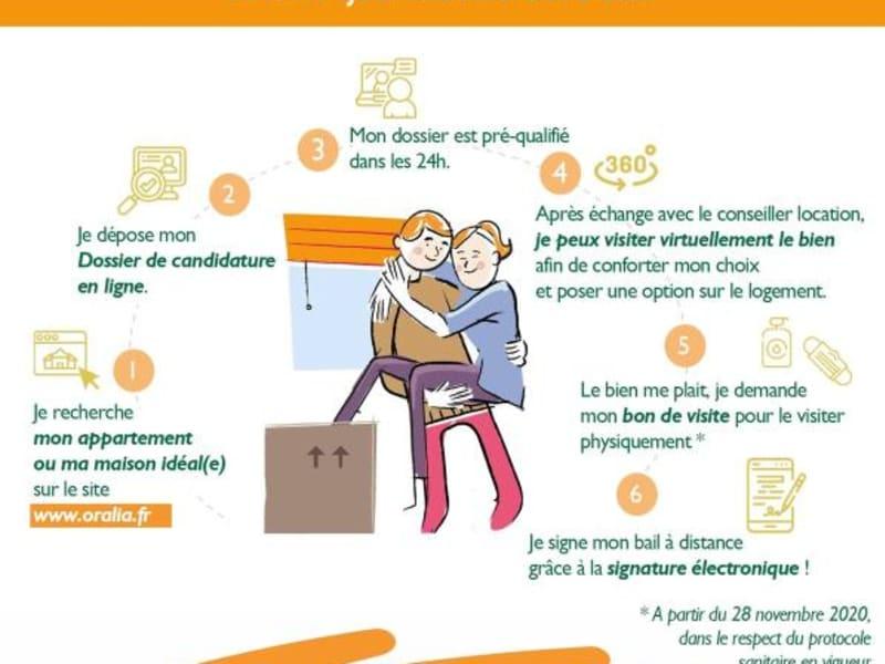 Location appartement Grenoble 500€ CC - Photo 2