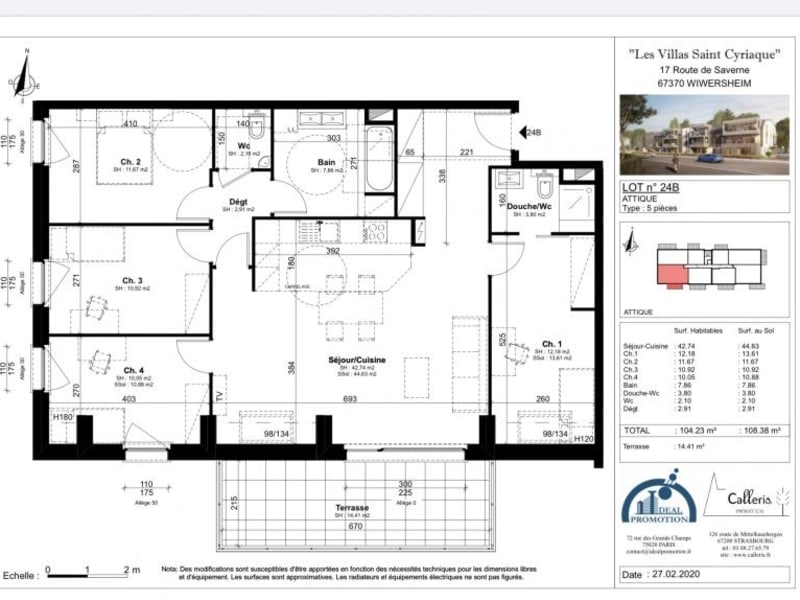 Deluxe sale apartment Wiwersheim 376950€ - Picture 3