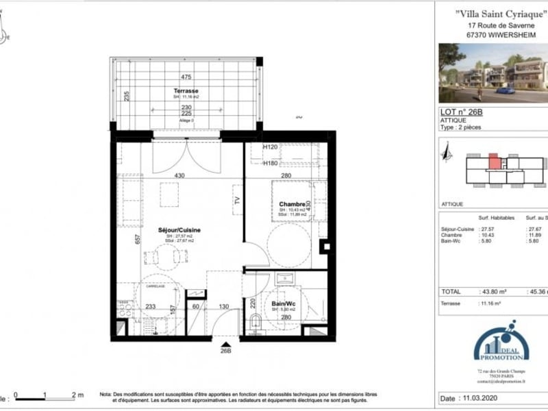 Deluxe sale apartment Wiwersheim 162750€ - Picture 3