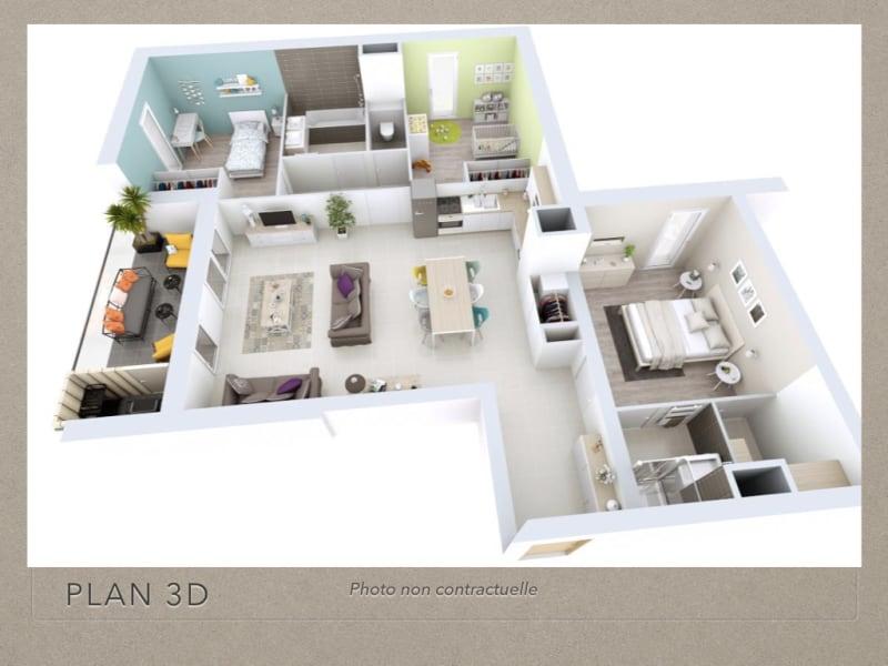 Sale apartment Gières 338500€ - Picture 3